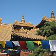 Roof and Prayer Flags