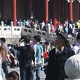 Tourists at the Forbidden City